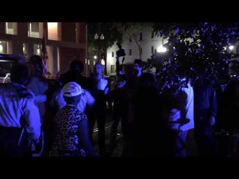 Dozens protest against Donald Trump; Lee monument, several buildings vandalized