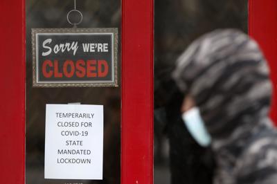 Coronavirus file photo of unemployment closed business
