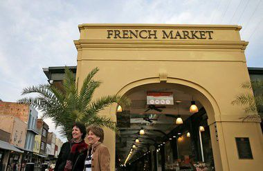 Eating your way through the French Market cafes in New Orleans
