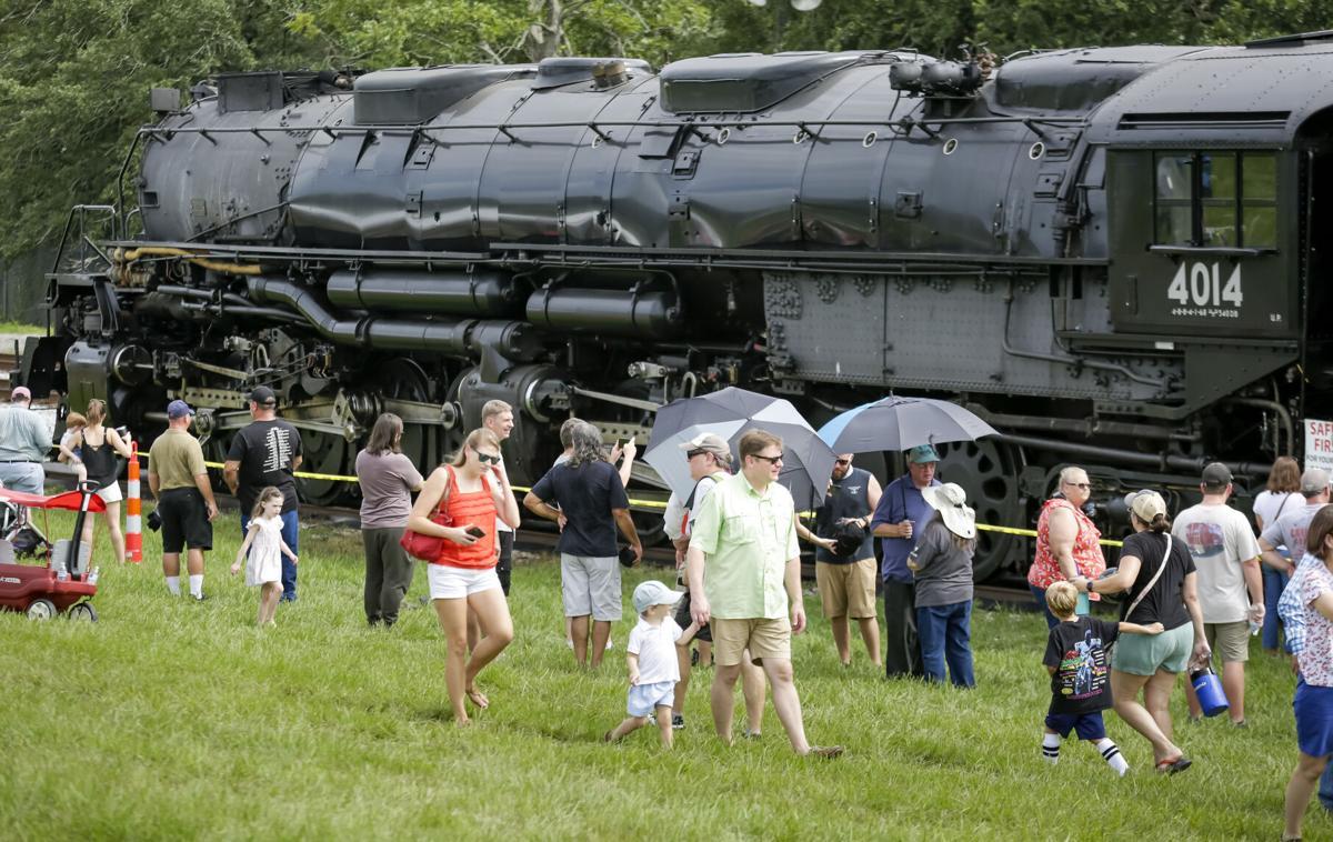 Union Pacific Big Boy 4014 steam locomotive
