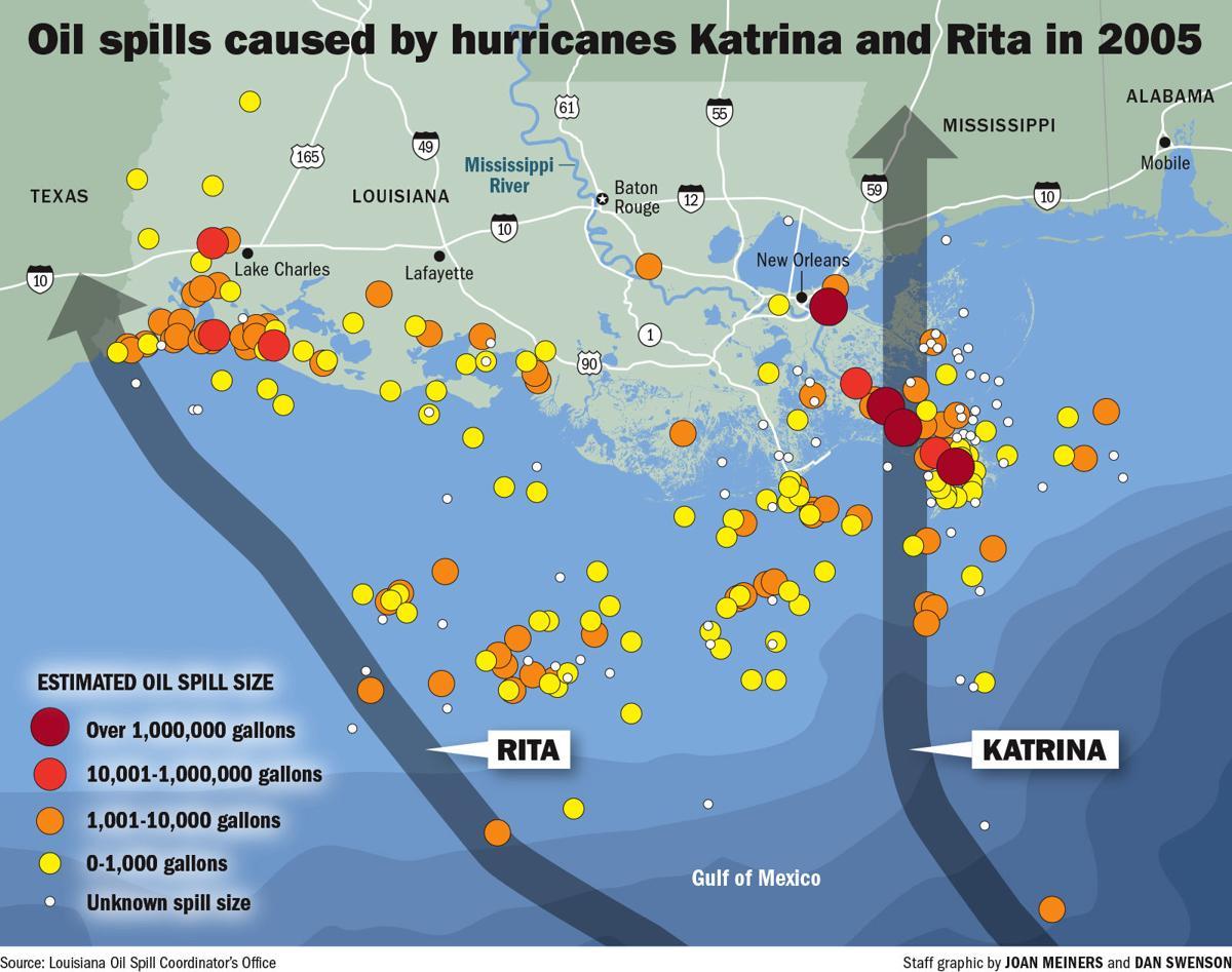 12xx19 Oil Spills Louisiana Gulf