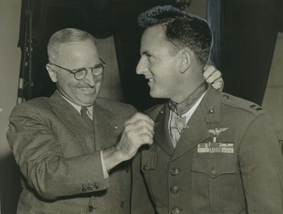 Harry Truman Jefferson Deblanc Medal of Honor