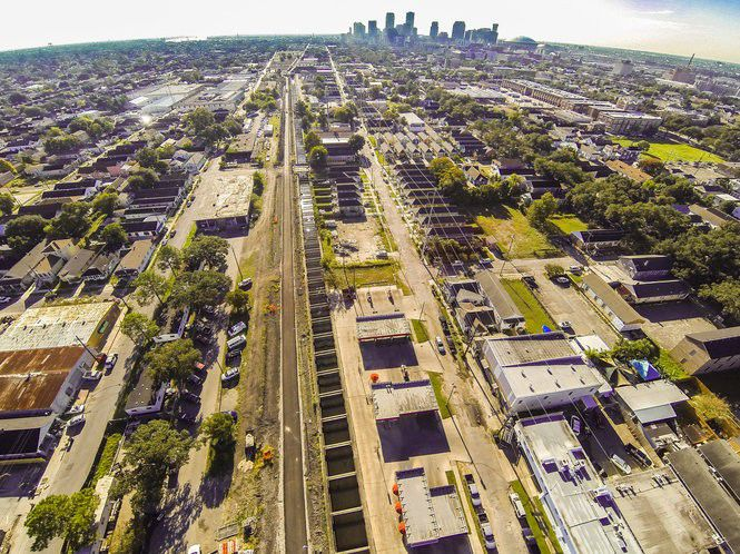 Boats, not bicycles, once traveled the Lafitte Greenway