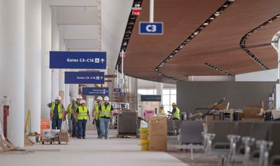 See the latest photos from New Orleans' new airport terminal, opening May 15