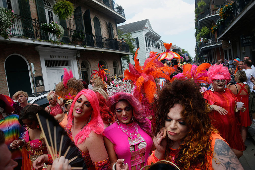 7079e1fbd8a Southern Decadence drag queens strut, sparkle through the French ...