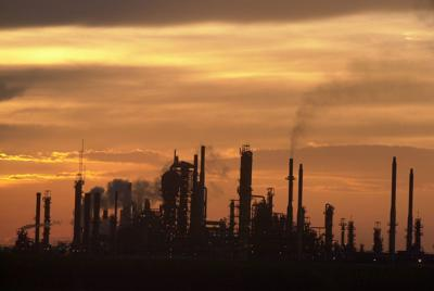 Convent oil refinery