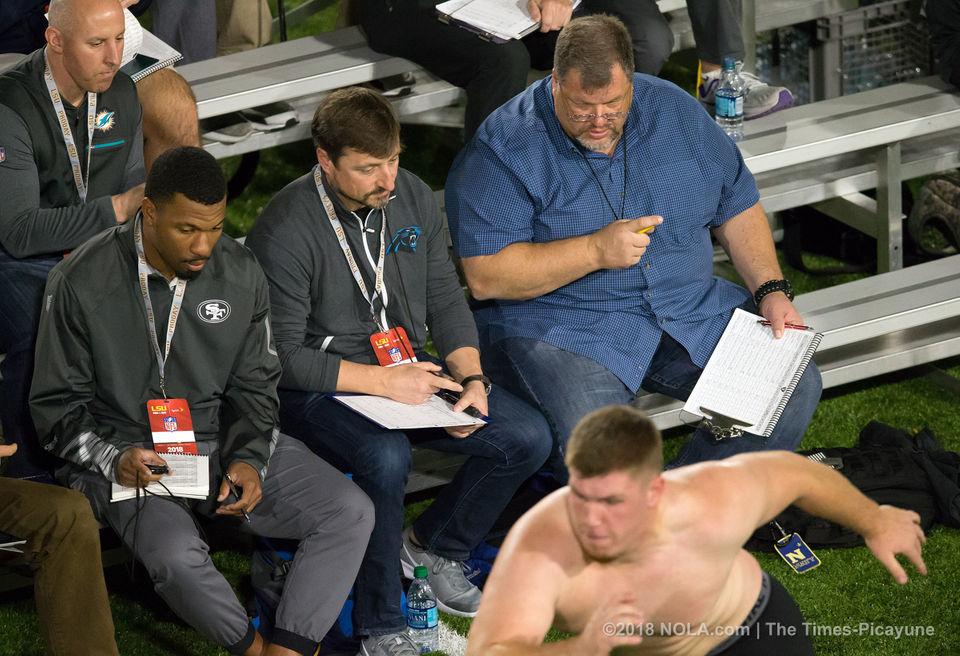 Former LSU basketball player Brian Bridgewater surprises NFL scouts