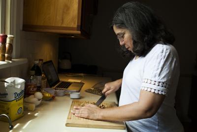Ann Maloney in her kitchen