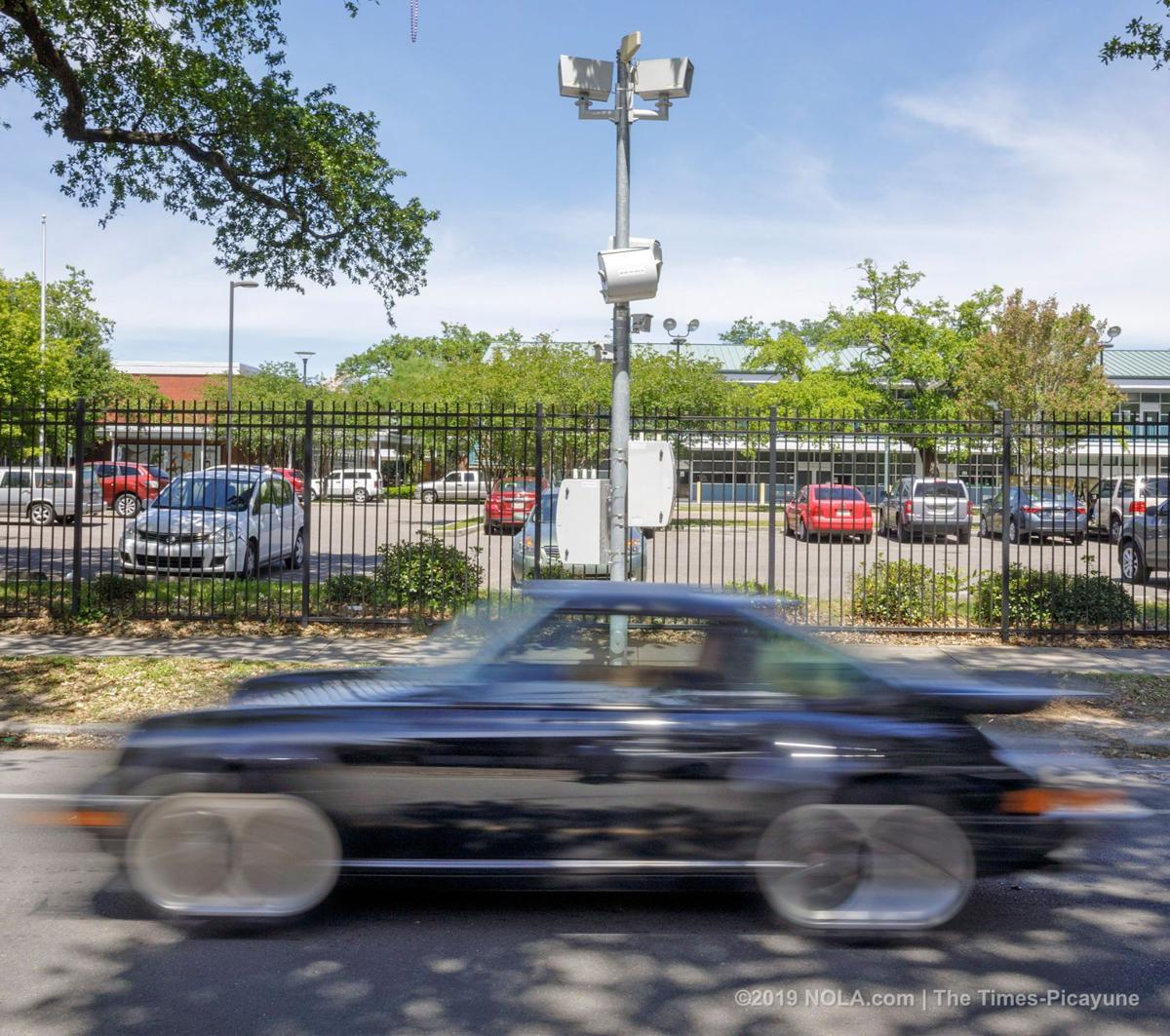 New Orleans school zone speed cameras
