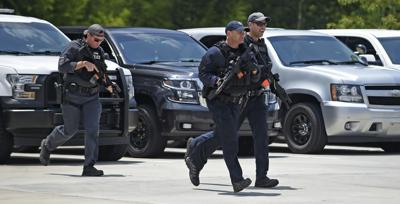 Active shooter drill crime file