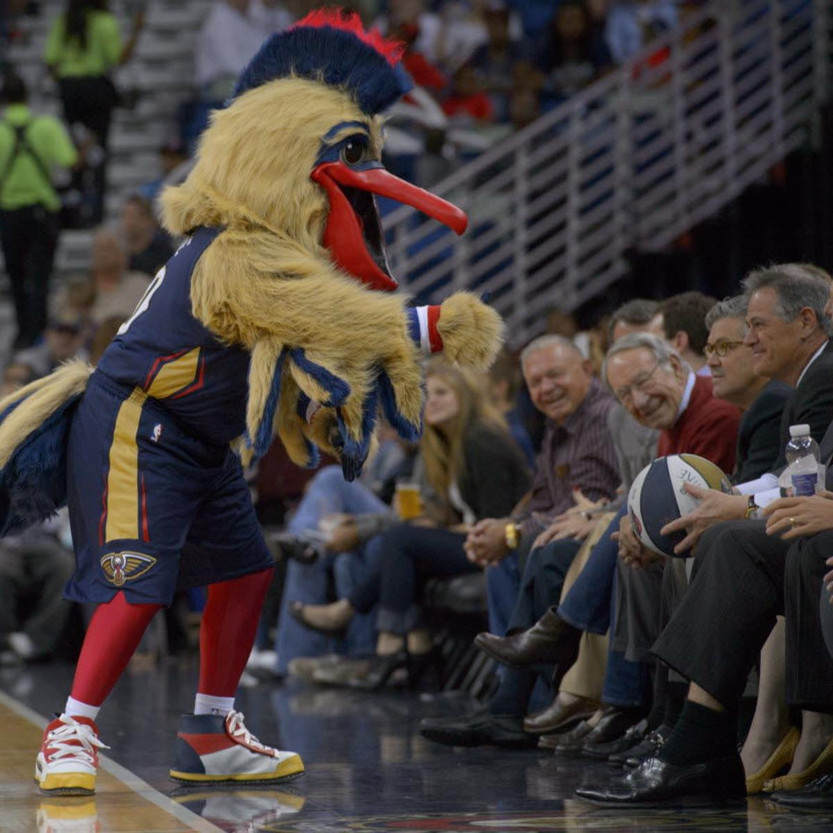Creepiest Mascot In Sports It S The Pelicans And They Have Two Pelicans Nola Com