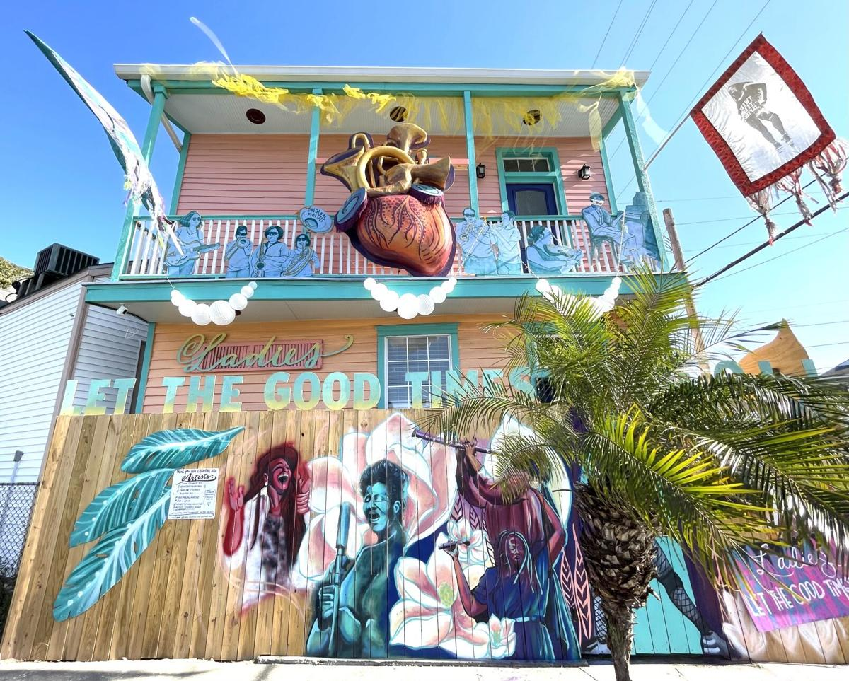 'New Orleans Queens of Sound and Soul' Mardi Gras house float has become a permanent tribute to the women of New Orleans music - 2.jpeg (copy)