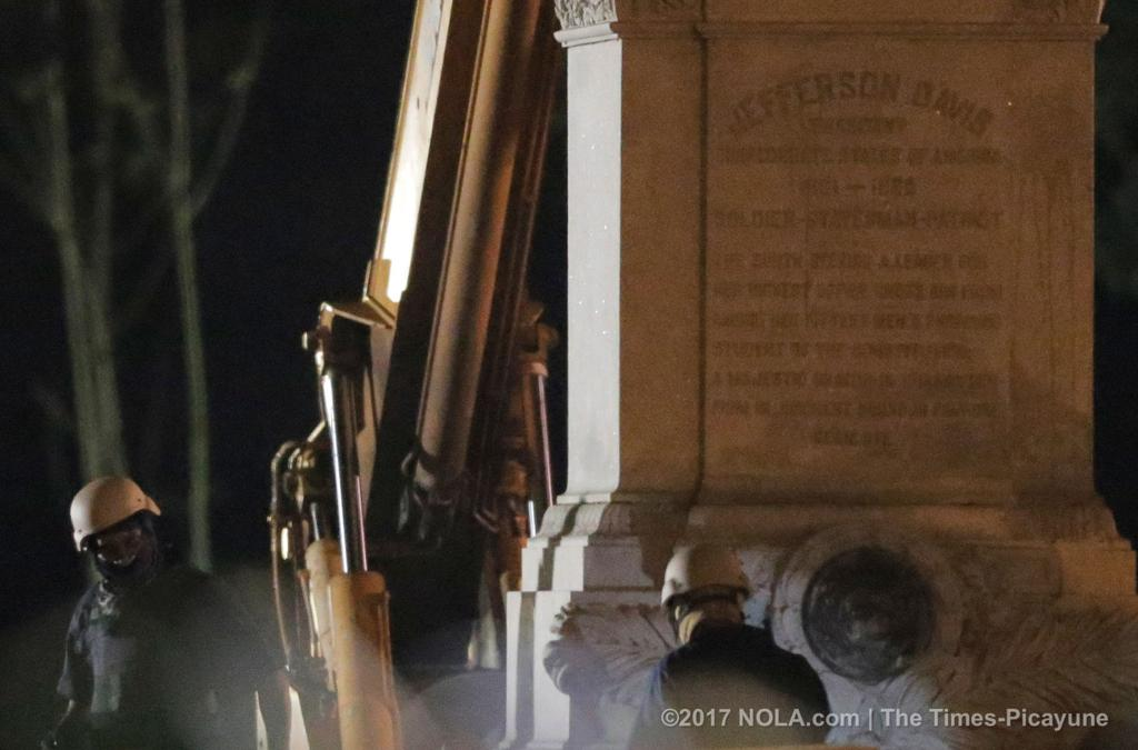 Confederate monuments in New Orleans: Where will they go