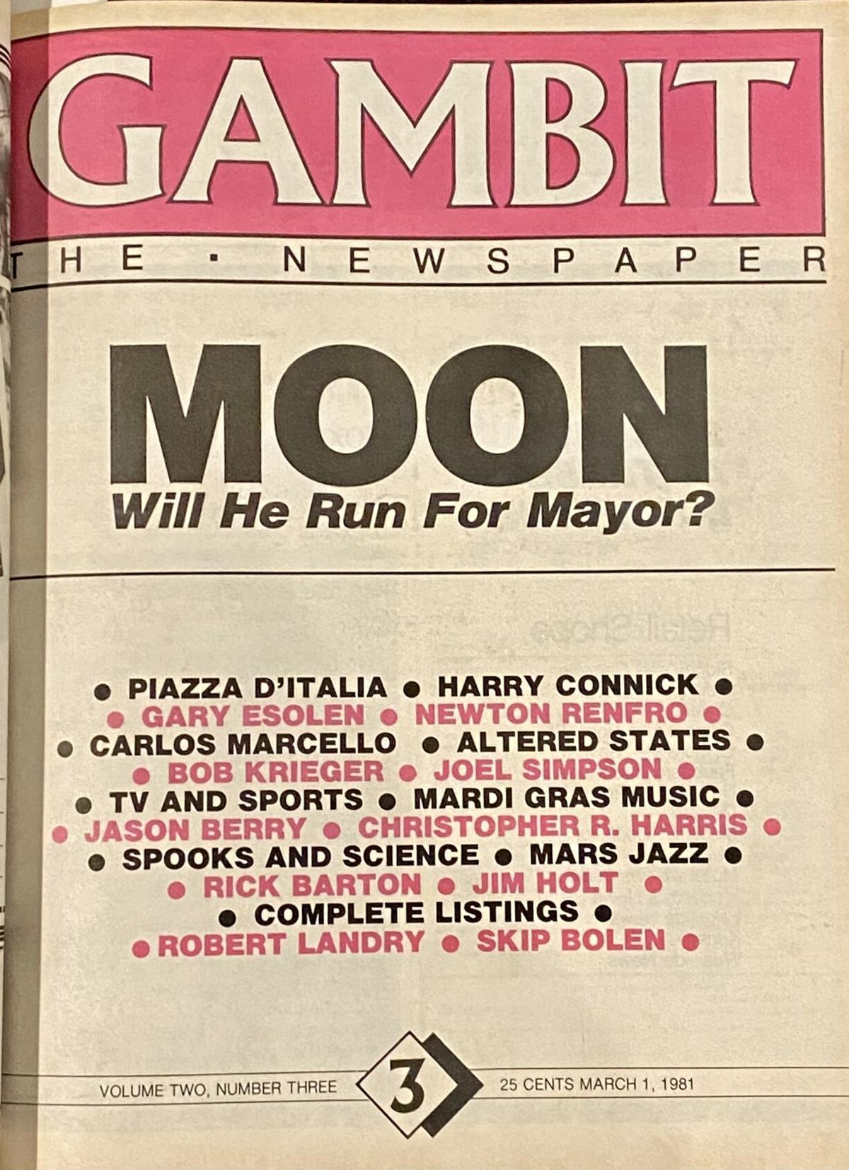 1981, March 1