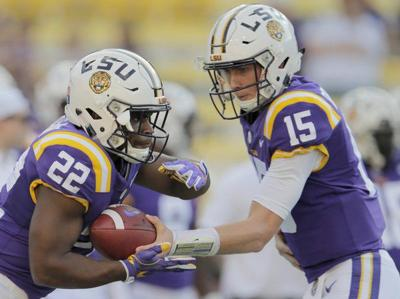 Ed Orgeron says offense showed 'marked improvement' in LSU football scrimmage