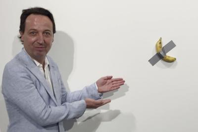 Art Basel Miami Banana Art