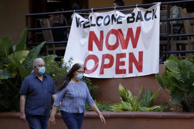Virus Outbreak Texas Reopens