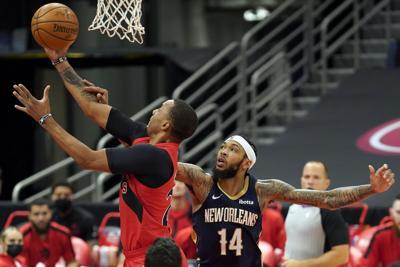 Pelicans Raptors Basketball