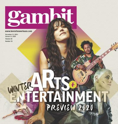 2020 Winter Arts + Entertainment Preview Cover