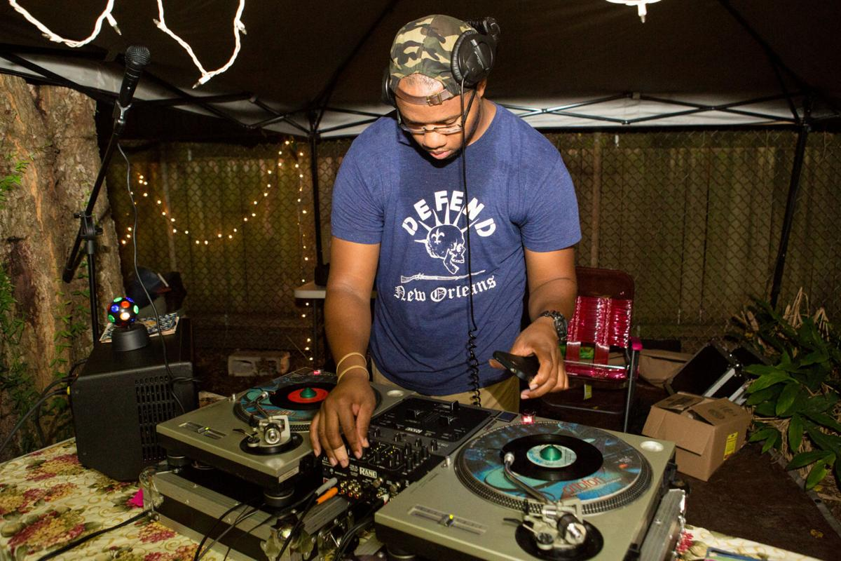 DJs spin at third annual Backyard Cut Session house party