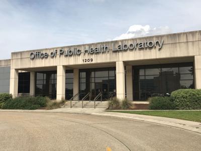 Louisiana Office of Public Health lab