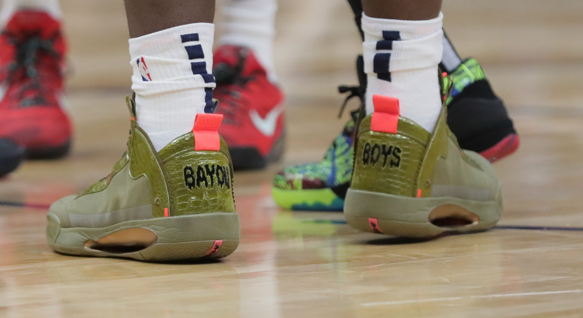 Zion Williamson's Bayou Boys shoes a