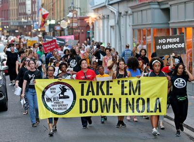Are you working harder for justice than Take 'Em Down NOLA?