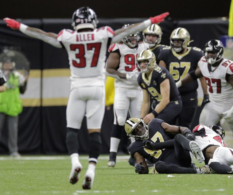 Saints sunk by stagnant offense, defensive penalties