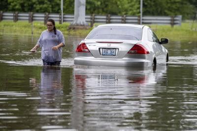 Mandeville flooding