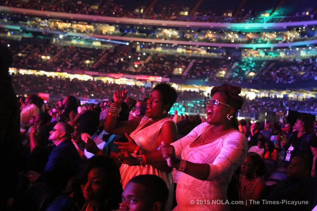 Mary J. Blige, joined by Method Man, staged a family affair at Essence Fest 2015