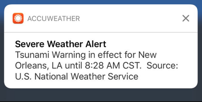 AccuWeather blames National Weather Service error in coding for