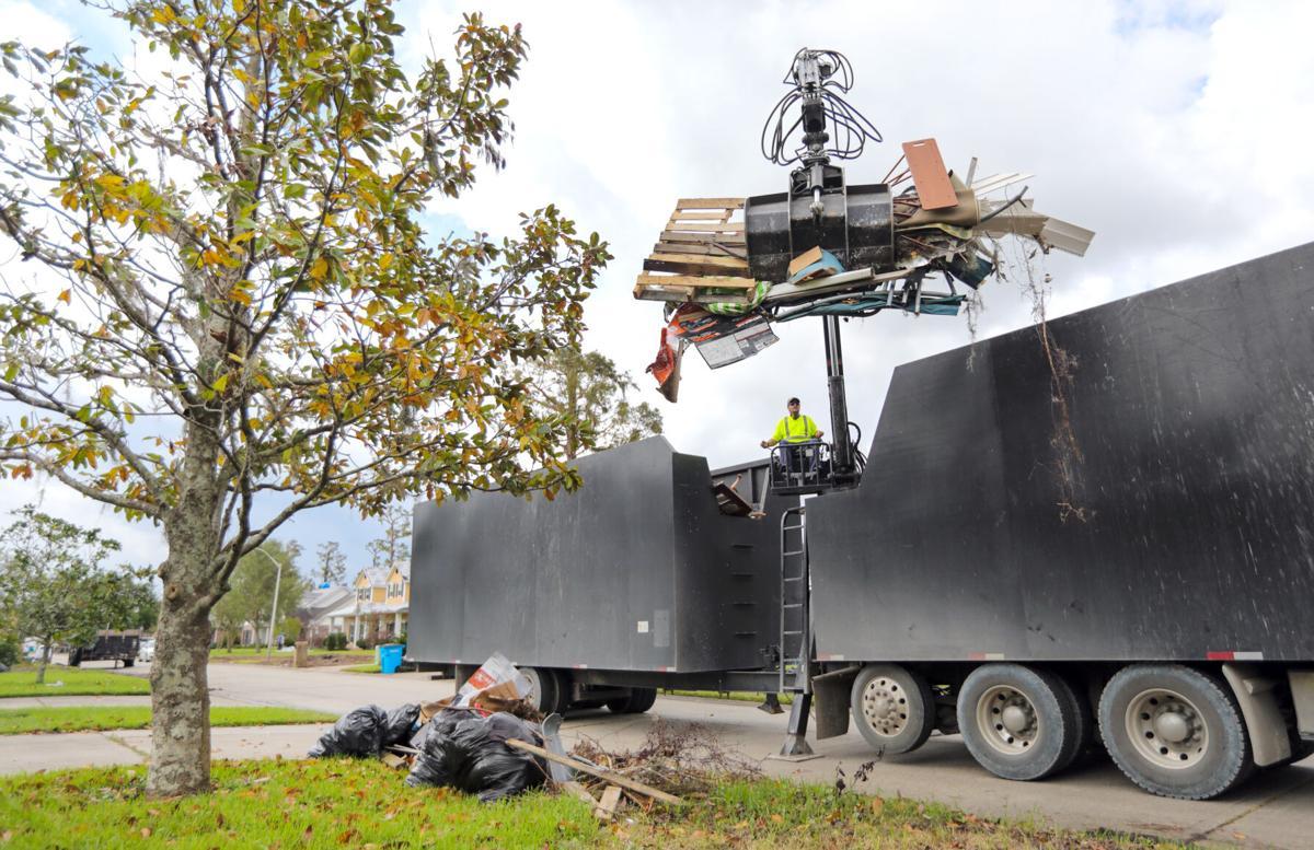 Hurricane Ida debris collection in River Parishes