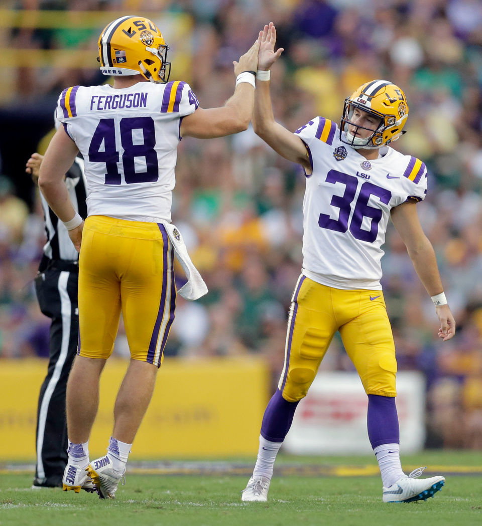 'We're going to win special teams:' LSU's specialists thriving for Tigers