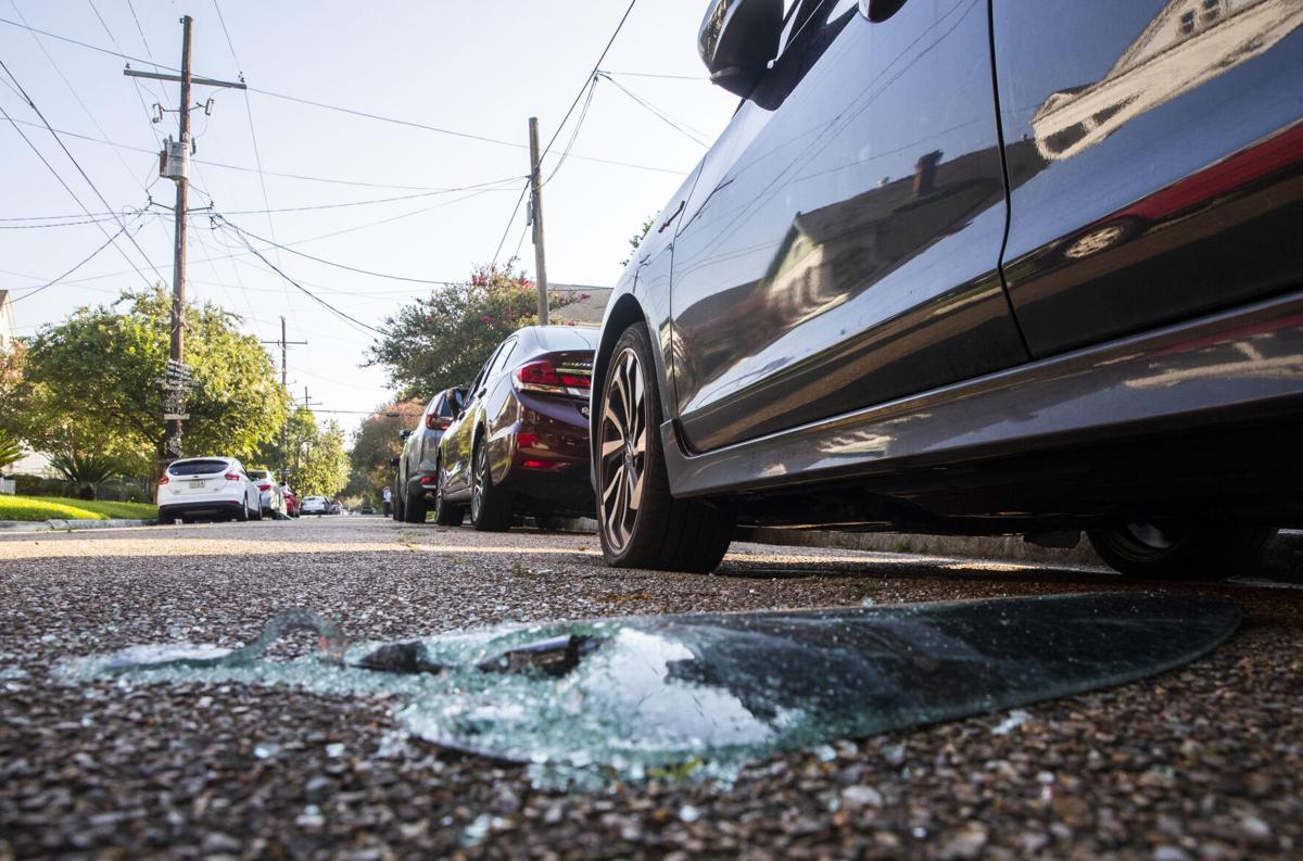 Vehicle burglaries on North Dupre Street