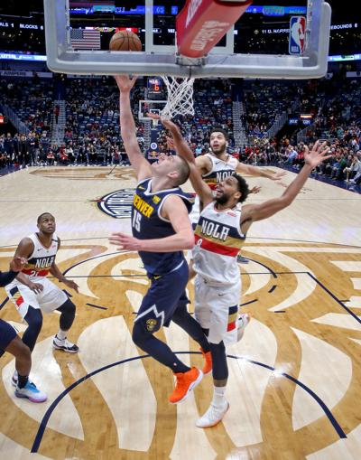 Denver Nuggets at New Orleans Pelicans, 1/30/19