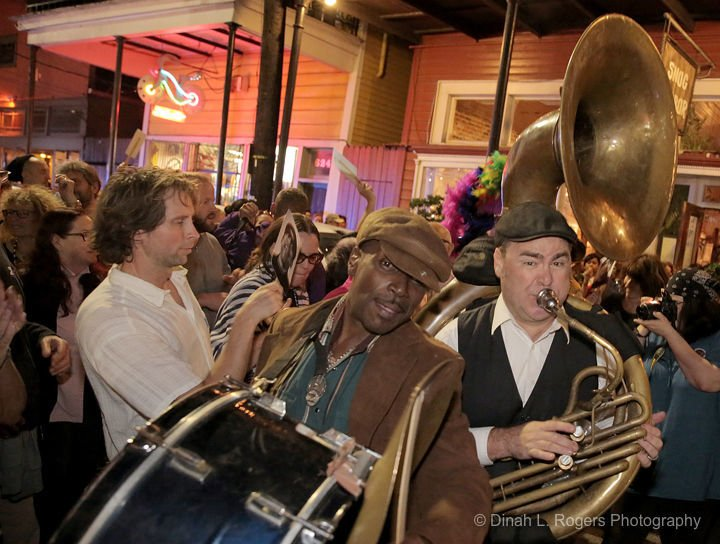 A beautiful French Quarter second-line for Henry Butler