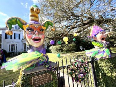 'Maison MASKquerade' Mardi Gras hosue float, 6000 St. Charles Ave. 2.jpeg