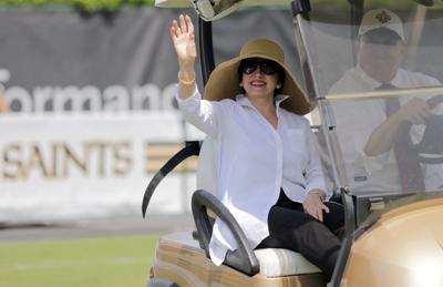 Gayle Benson: Saints camp Monday