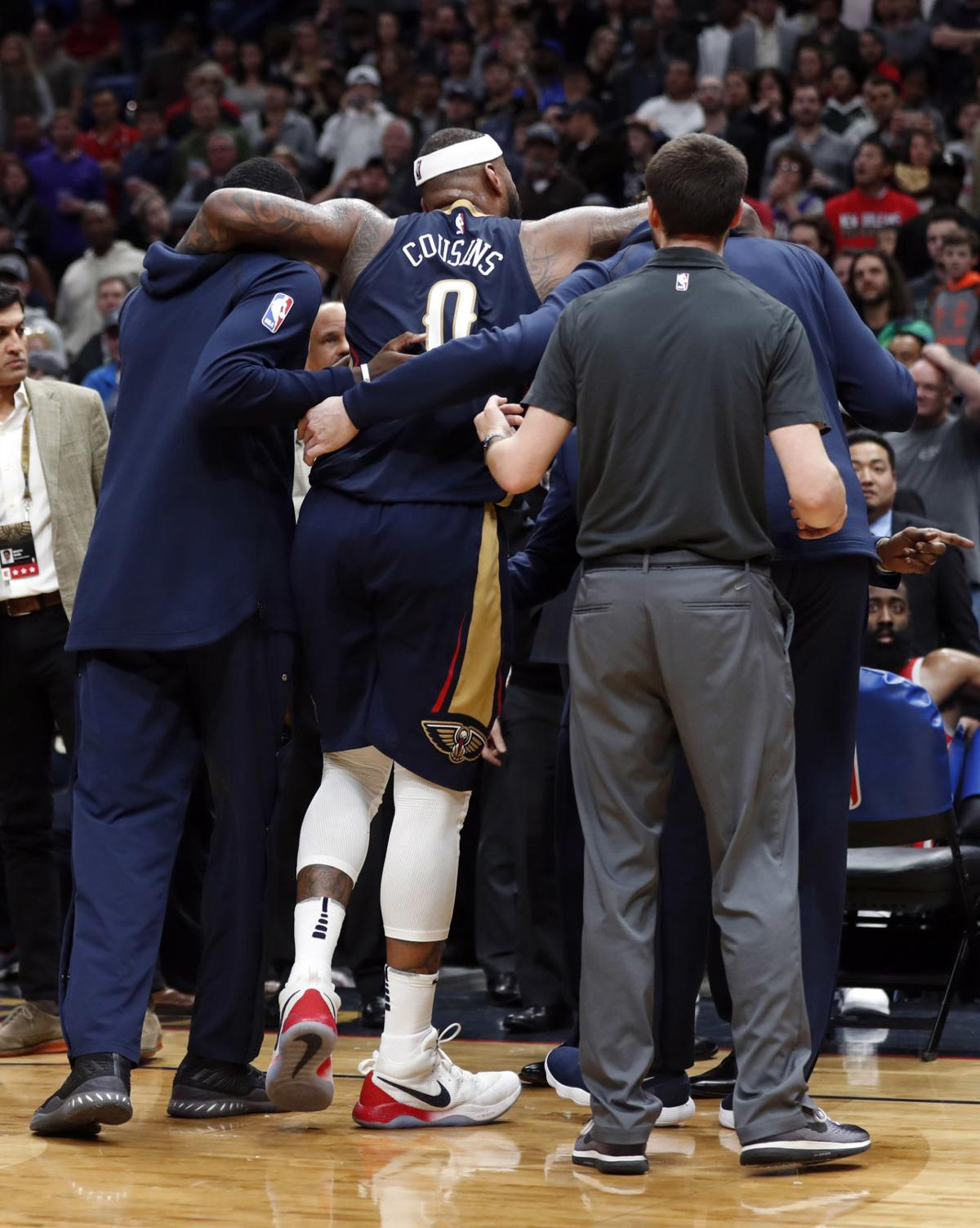 After DeMarcus Cousins' season-ending injury, the Pelicans