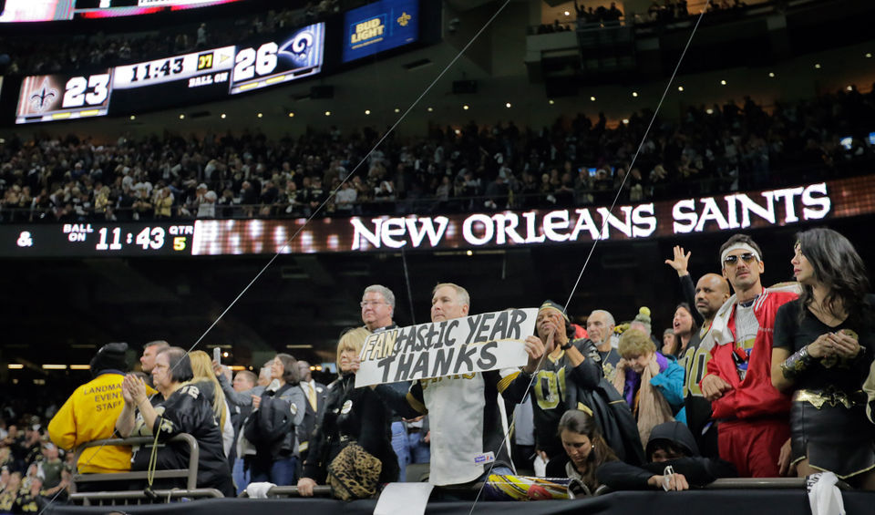 21-plus events for New Orleans Saints fans' on anti-Super Bowl on Sunday