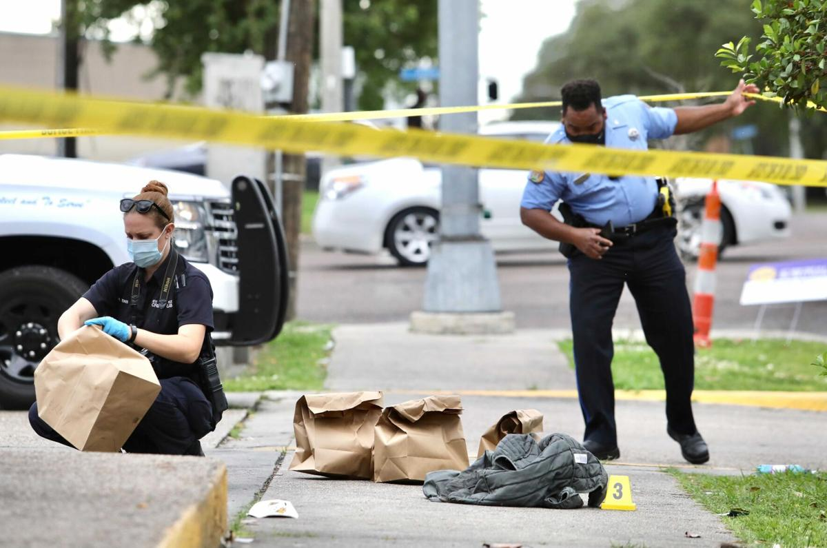 MLK and Claiborne Ave shooting