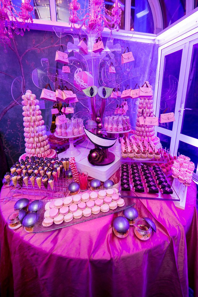 Alice in Wonderland-themed party takes Clare Conwill's friends and family on a journey