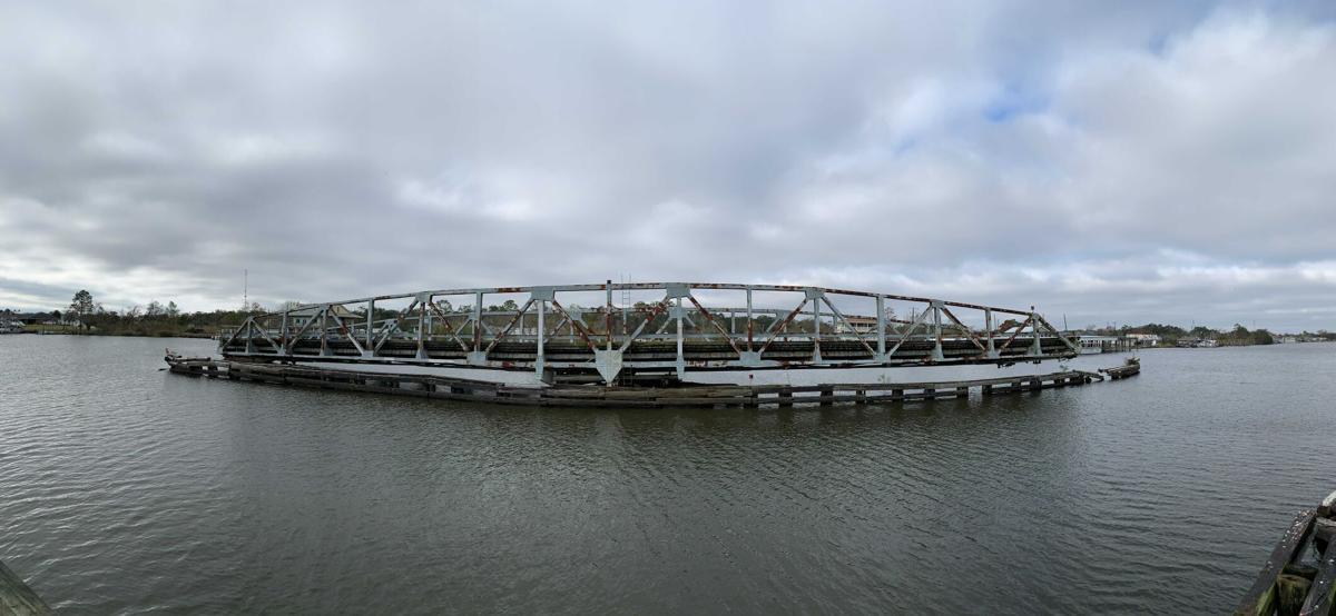 Barataria Bridge damage