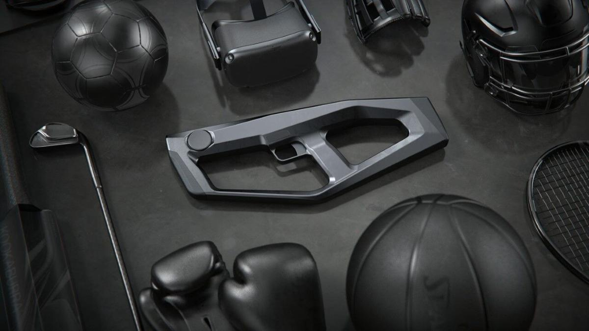 HapTech Inc and Striker VR virtual reality blaster