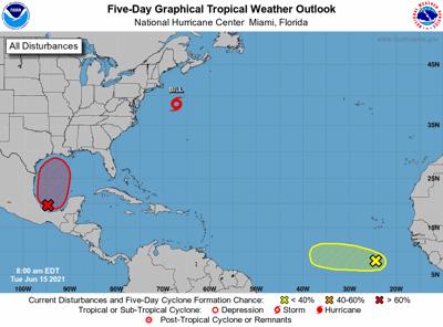 tropical outlook 7am June 15