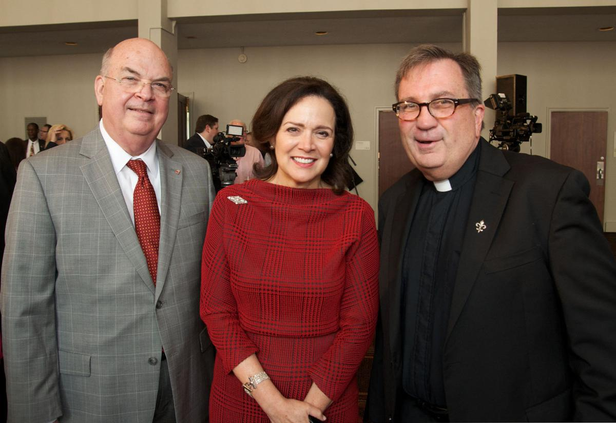 Loyola University kicks off its Faith in the Future campaign at a launch party