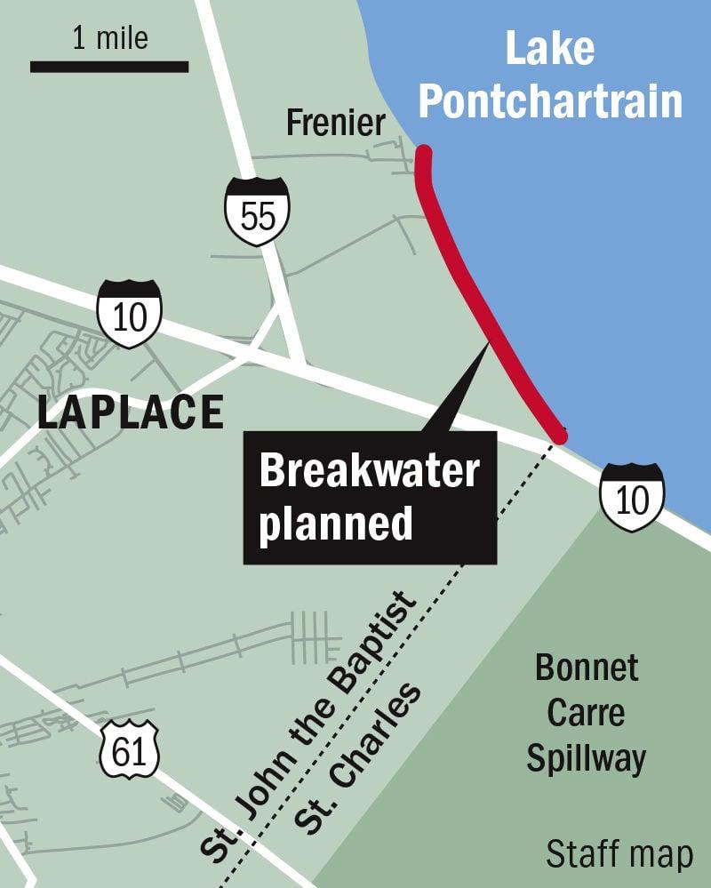 122319 LaPlace Lake Pont breakwater