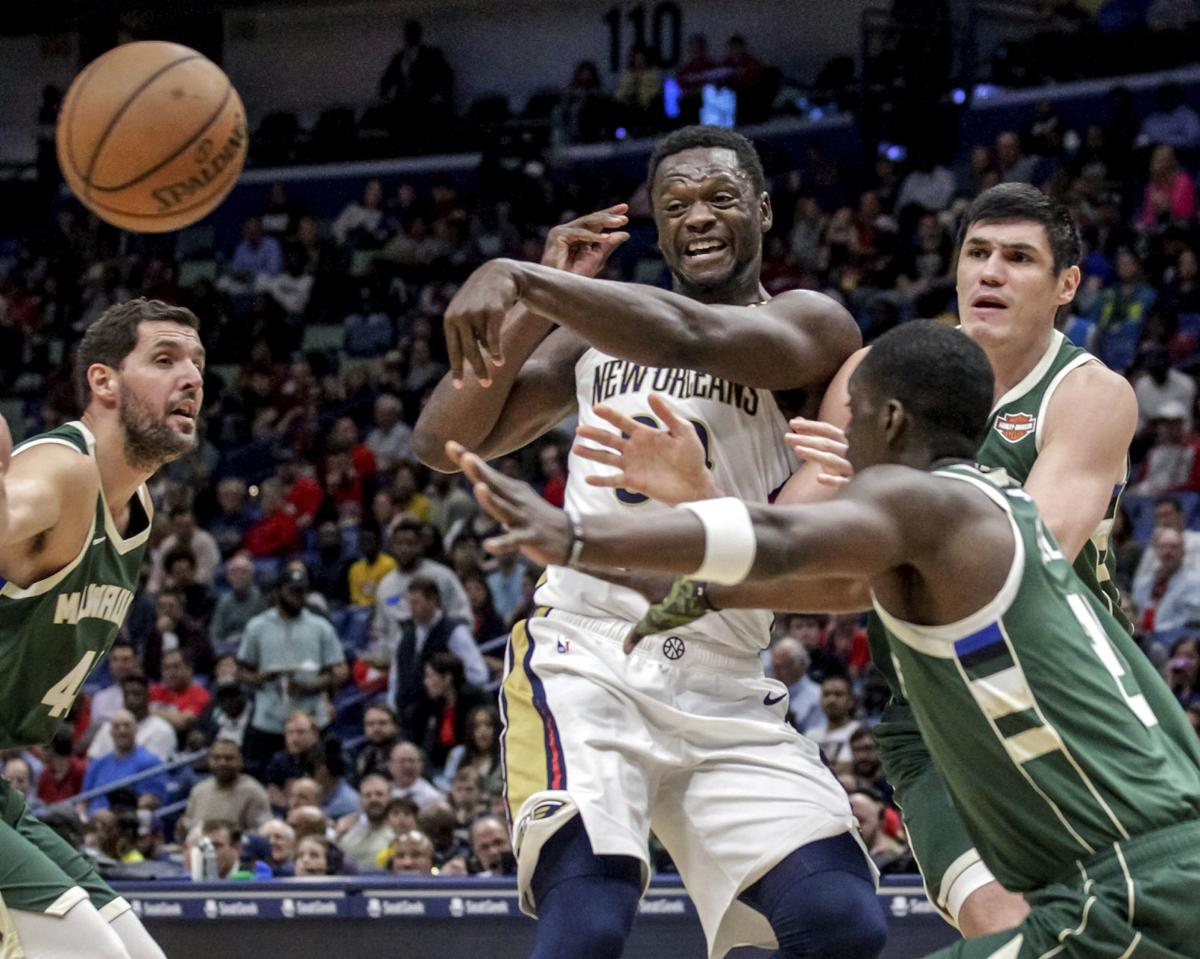 Bucks Pelicans Basketball