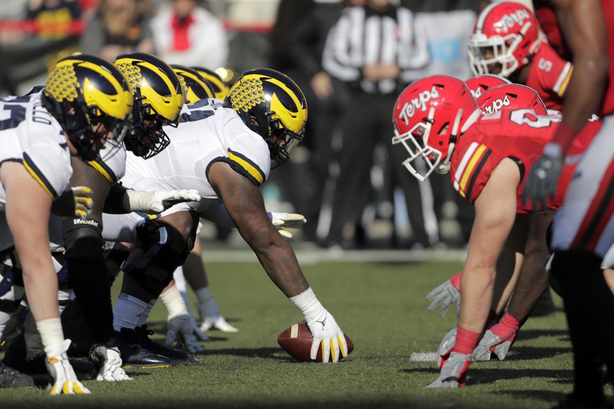 Michigan Maryland Football