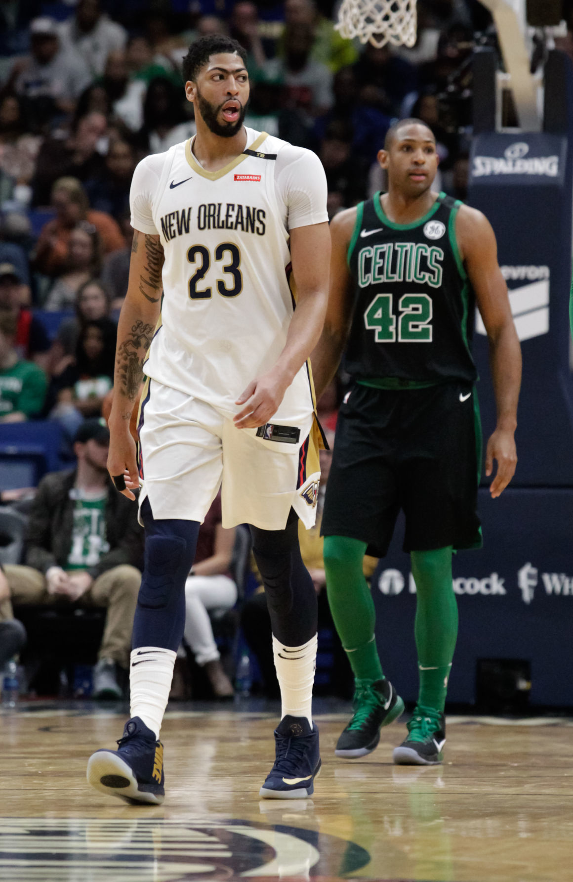 sports shoes 5f616 820b4 Kushner: As Celtics lose, so do the Pelicans; Anthony Davis ...
